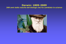 Darwin - IIS Cartesio Luxemburg