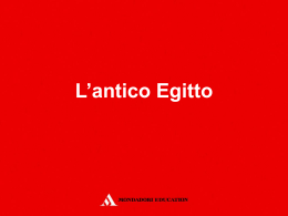 03_antico_egitto - Mondadori Education
