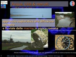 Perugia acqua parte 1 - archéologie des moulins romains d`Orvieto