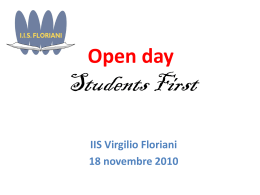 Students First - Virgilio Floriani
