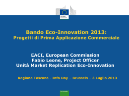 leone 2013_EcoI_IT_InfoDay_Toscana