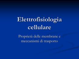 Elettrofisiologia cellulare