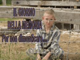 Giorno della Memoria - Istituto Comprensivo Emanuele Filiberto di