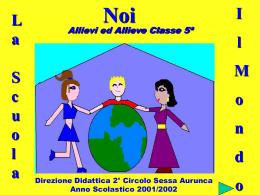 Giornalino (anno scolastico 2000/2001)