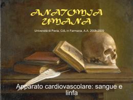 Lezione 10 - Università degli Studi di Pavia