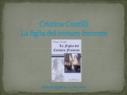 Cristina Contilli La figlia del corsaro francese Ebookingdom