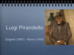 Pirandello (power point)