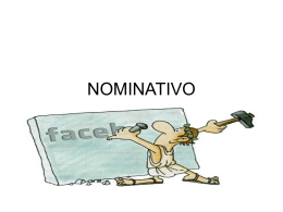 NOMINATIVO - WordPress.com