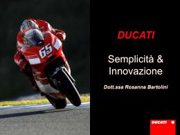 Ducati - Semplicità & Innovazione
