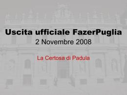 Uscita ufficiale FazerPuglia 2 Novembre 2008