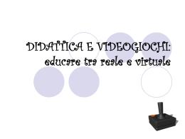 didattica e videogames