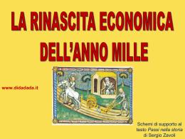 La rinascita economica dell´anno mille