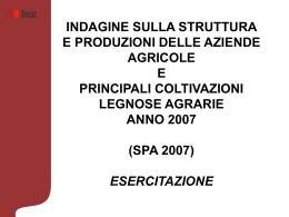Presentazione quesiti 2007