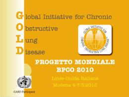 progetto mondiale bpco 2010