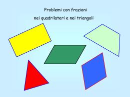 Quadrilateri e triangoli