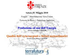 Produzione ed uso dell`Energia - Collegio dei Geometri della
