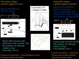 Lezione n. 3 - INAF-Osservatorio Astronomico di Roma