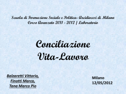Balzaretti Finotti Tana - Scuola di formazione sociale e politica per