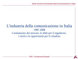 PPT - Fondazione Rosselli