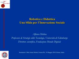 Molina_robot - Fondazione Mondo Digitale