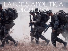 Poesia di guerra