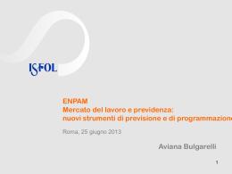 Le slide dell`intervento di Aviana Bulgarelli (Advisor Ocse