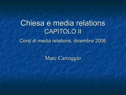 L`ufficio stampa PARTE I Marc Carroggio