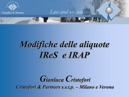 Finanziaria 2008-1 - Confindustria Vicenza