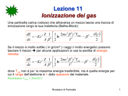 lezione11 - Dipartimento di Fisica e Geologia