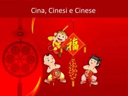 Presentazione Cina 1