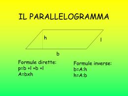 parallelogramma, rombo, quadrato, trapezi