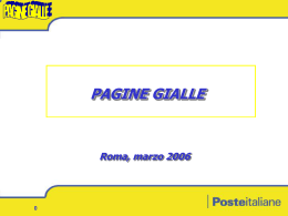 08/03/06 consegna pagine gialle