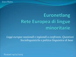 Comune di Orosei: leggi europee, nazionali e locali a