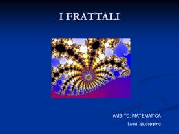 web quest_I Frattali - Sergio Simone matem`Arte