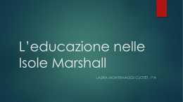 L`educazione nelle Isole Marshall