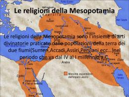 Religioni Mesopotamia