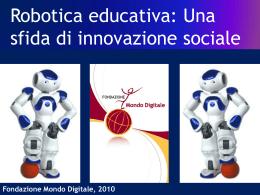 Robotica_AlfonsoMolina - Fondazione Mondo Digitale