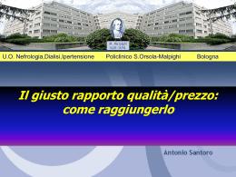 La Dialisi nella Provincia di Bologna Rilevazione