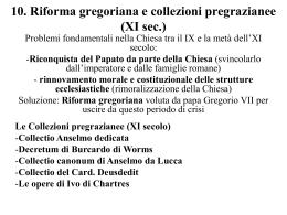 LE FONTI DEL DIRITTO CANONICO II PARTE