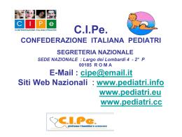 Diapositiva 1 - C.I.Pe. Abruzzo