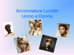Acconciature Luzieth