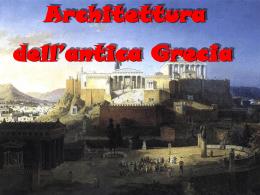 Architettura dell`antica Grecia