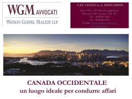 CANADA - Watson Goepel LLP