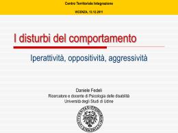 Slide - USP di Vicenza