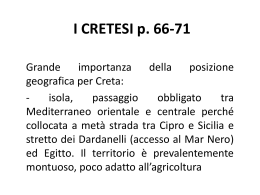I CRETESI p. 66-71