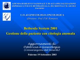 gestione della paziente con citologia anomala Power Point