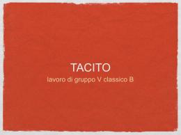 tacito ppt