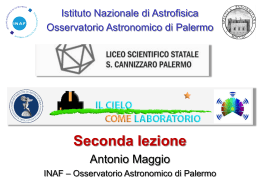 m 1 - Osservatorio Astronomico di Palermo