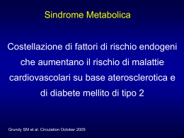 Sindrome metabolica