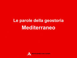 13_mediterraneo - Mondadori Education